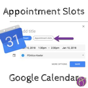 Calendar Appointment Slots New Calendar Appointment Slots Tech