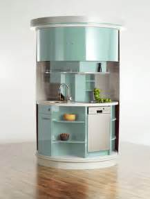 very small kitchen which has everything needed circle