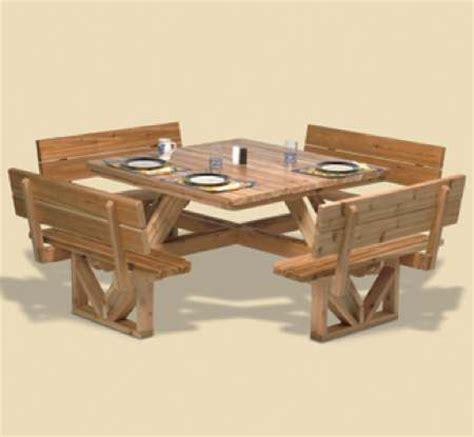 picnic table woodworking plans  woodworking projects