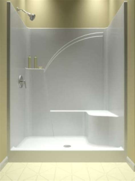 bathtub one piece shower only one piece showers pinterest bath and intended for with bathtub prepare 3