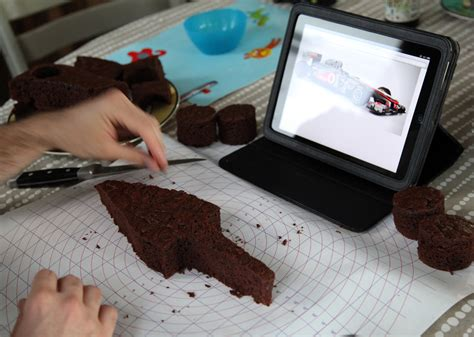 the making of a f1 birthday cake stately kitsch