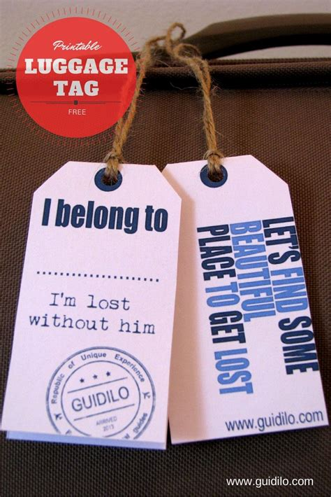 bon voyage with these free luggage tag printables made