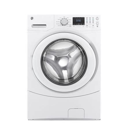 front load washer fan ge 4 3 cu ft front load washer in white energy star