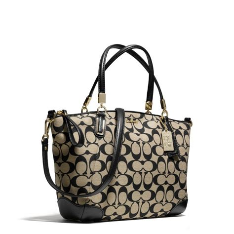Coach Kelsey Small Patcwork lyst coach small kelsey satchel in printed
