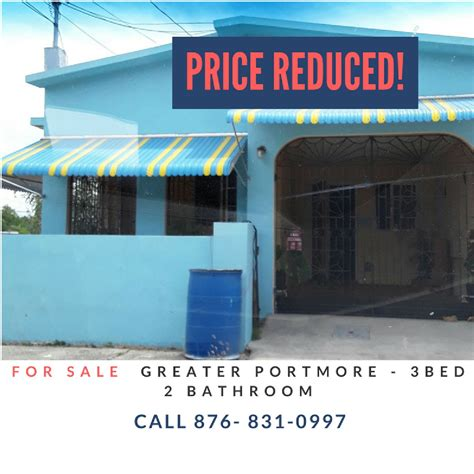 3 bedroom 2 bathroom house 3 bedroom 2 bathroom house for sale in greater portmore st