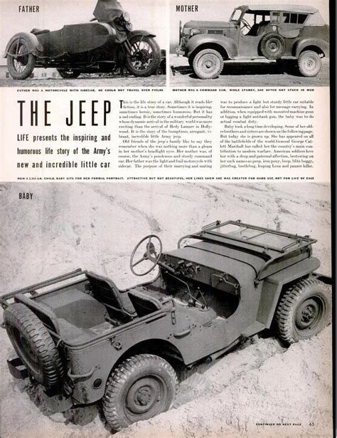 Jeep Magazines 1000 Images About Vintage Jeeps On Jeeps