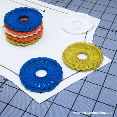 pattern weights how to use how to crocheted washer sewing pattern weights make