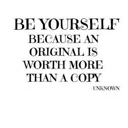 Style quote of the day be yourself hearts of june