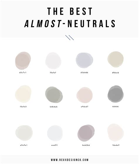 what are the neutral colors best neutral colors for branding creative business