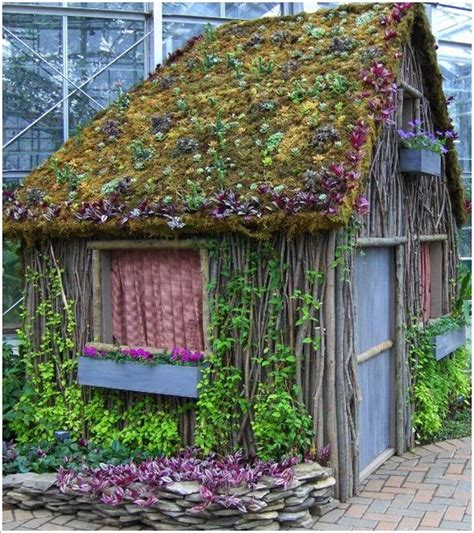 Living Roof Shed by Cool Garden Shed Designs That You Will Barnorama