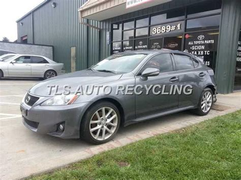 lexus is parts parting out 2012 lexus is 250 stock 4042br tls auto