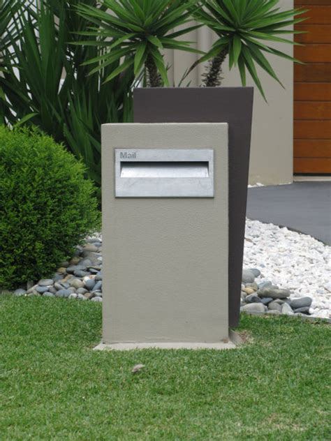 Modern Home Design Australia by Rendered Lightweight Letterboxes Easy Diy Letterboxes