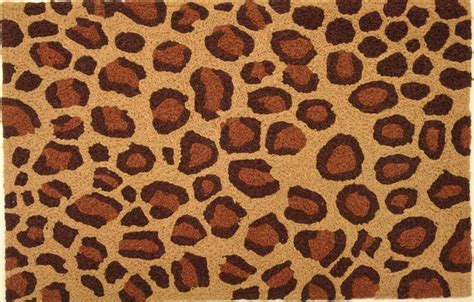Leopard Print Outdoor Rug Jb Dsn001 Leopard Print Indoor Outdoor Rug Interiordecorating