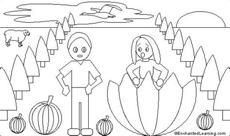 peter peter pumpkin eater printout enchantedlearning com