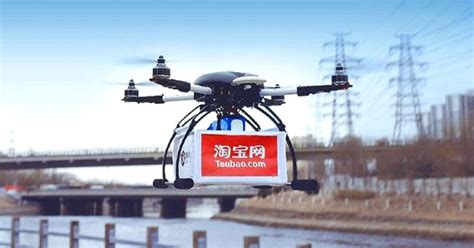 Alibaba Drone | alibaba tests drone deliveries after amazon push