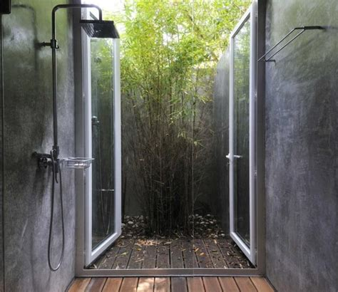 open air shower loft style open air shower home and design