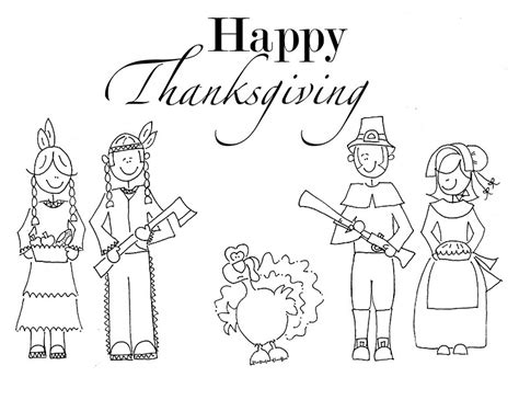 Free Printable Thanksgiving Coloring Pages For Kids Kindergarten Thanksgiving Coloring Pages