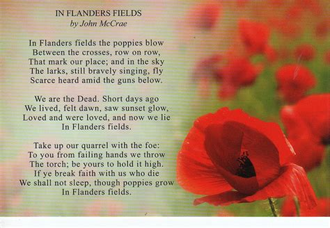 printable version of flanders fields linc5ft canadian holidays