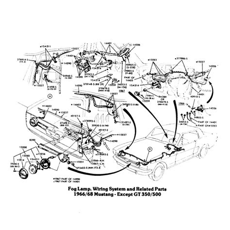 67 mustang light wiring diagram wiring diagram with