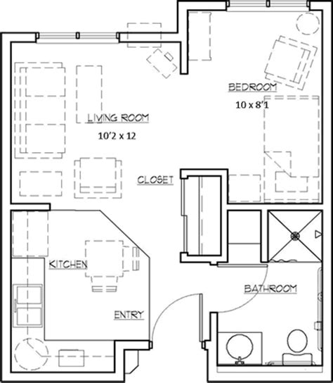 studio loft apartments 450 sq ft floor plans the heights at evansville manor floor plans