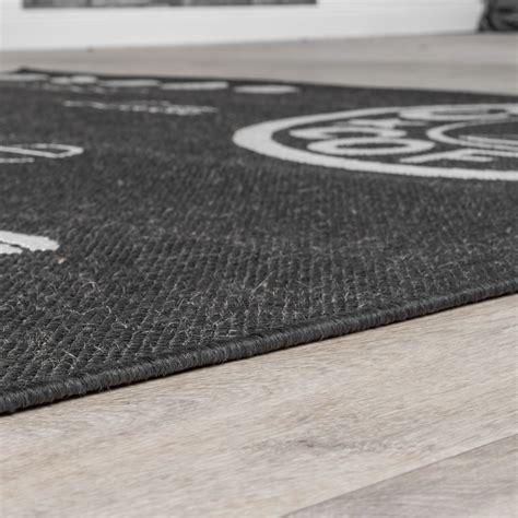 teppich läufer sisal moderner teppich kurzflorteppich k 252 chenteppich kaffeekanne