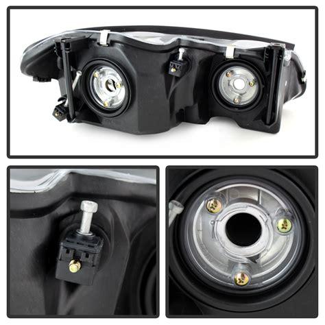 chrysler 300m headlight replacement 1999 2004 chrysler 300m replacement headlights black