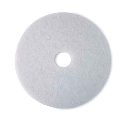3m White Pad 4100 17 Inch Floor Buffing Pad 3m white pad 4100 jnl rapidclean national supply solutions