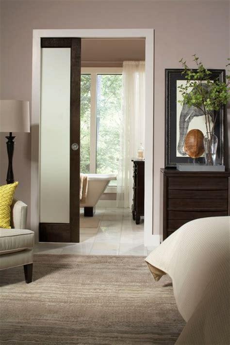 Bedroom Pocket Doors Bathroom Pocket Door 154068pf Contemporary Bedroom