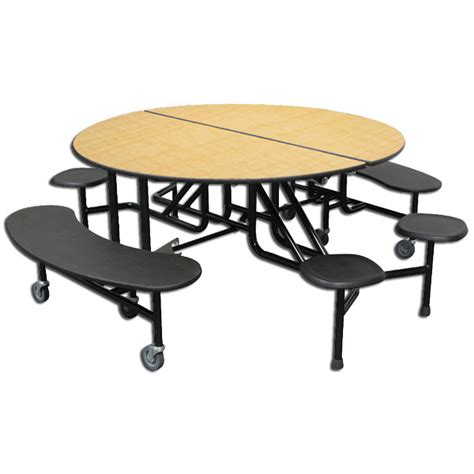 palmer hamilton mobile stool bench cafeteria tables