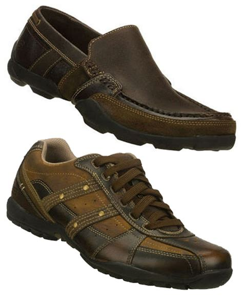 skechers loafers for skechers s leather loafers or oxfords sneakers in