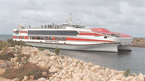 ferry from adelaide to port lincoln lucky bay wallaroo ferry to stop port lincoln times