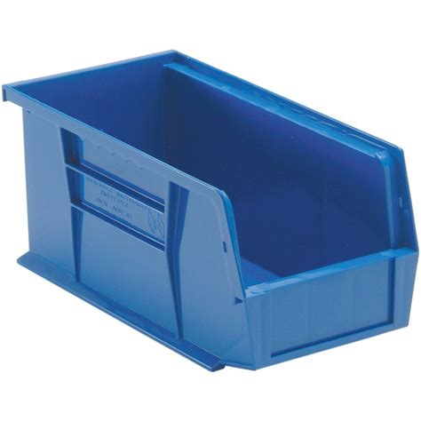 stanley 1 compartment stackable storage bin 056400l the