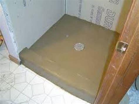Installing Mortar Shower Pan Video   YouTube