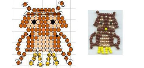 pony bead owl pattern seed bead owl pattern pony and perler