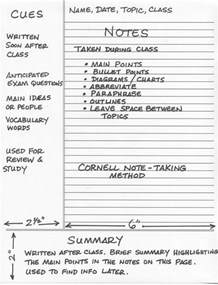 note taking templates for college best 25 cornell notes ideas on middle college