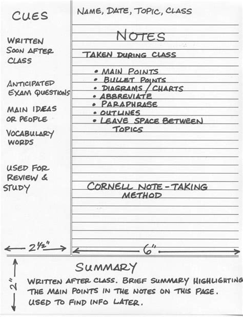 cornell method template 25 best ideas about cornell notes on where is