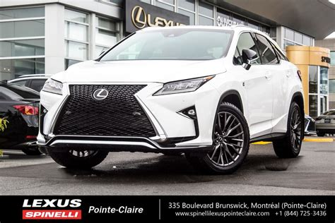 Lexus Jeep Used 2017 Lexus Rx 350 F Sport Serie 2 For Sale In