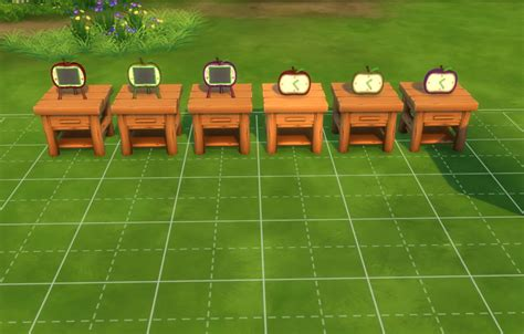 Canapy Bed mod the sims apple series animal crossing inspired