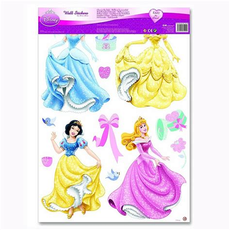 disney princess stickers for walls disney princess wall stickers new official free p p ebay