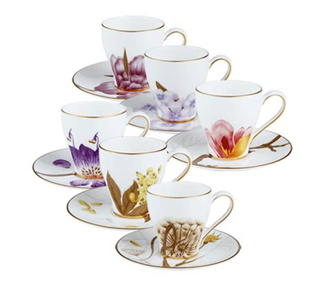 Fiori Coffee Set royal copenhagen espresso cup and saucer 6 pack shop at royalcopenhagen