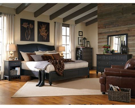 Aspen Home Bedroom Furniture Aspenhome Furniture Bedroom W Sleigh Bed Ravenwood Asi65 400 4set