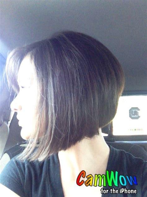 Shorter stacked bob   Hairstyles   Pinterest   Bobs, Hair