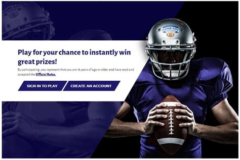 Kroger Sweepstakes Rules - kroger instant win sweepstakes game day greats play through 9 27