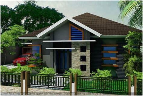 desain jalan depan rumah 65 model desain rumah minimalis 1 lantai idaman dekor rumah