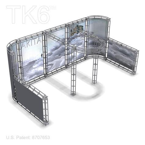 akita 10 x 20 trade show truss display exhibit booth