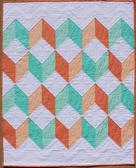 teaginny designs chevron baby quilt