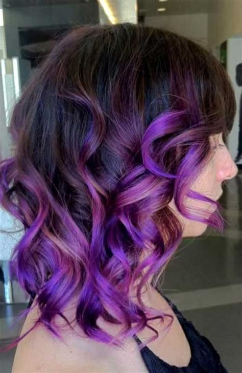 20 purple ombre hair color ideas thick hairstyles 20 long bob ombre hair bob hairstyles 2017 short
