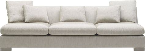 Small Armless Sectional Sofa Armless Sofa Gabby Armless Sofa Gray Zulu Feather Modern Room Furniture Woodbridge Home