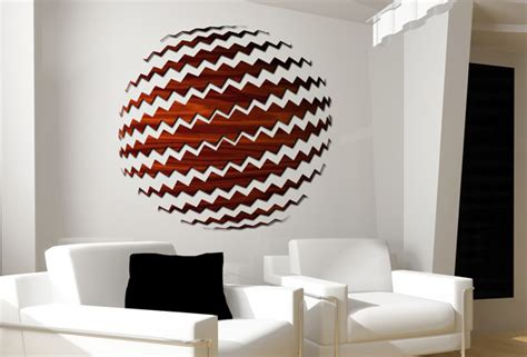 lezer cut wood wall globe decor