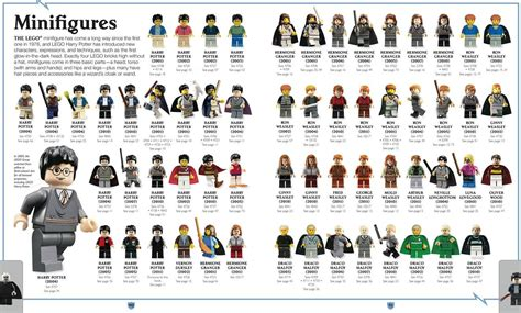 the of harry potter books lego harry potter characters of the magical world i